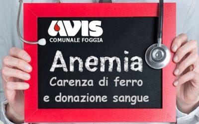 Carenza di ferro e donazione sangue
