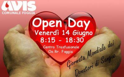 Giornata Mondiale della Donazione del Sangue: Dona Sangue, condividi la Vita!